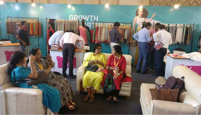 LIVA presents sarees at Kolkata Fabric Expo