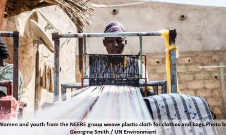 Neere upcycles plastic waste into clothing