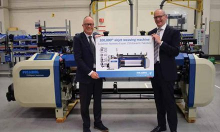 Picanol produces 1,00,000th airjet machine