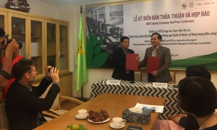 VITAS, WWF-Vietnam project promoting green garment sector