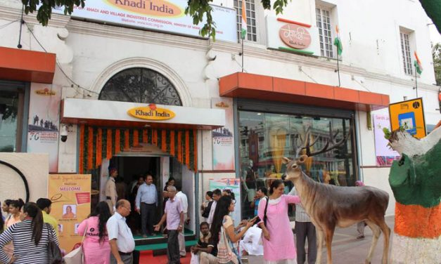 Sale of khadi increases during Indian polls