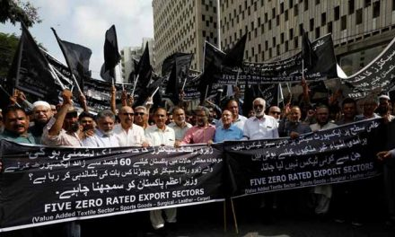 Exporters protest against new taxes