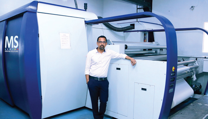 Ganga Fashions' journey from  conventional to digital printing