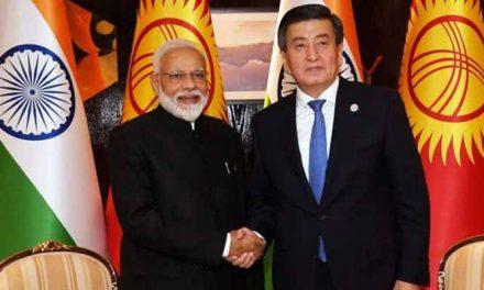 India-Kyrgyzstan 5-yr road map to raise trade