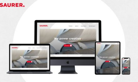 Saurer launches new clear, intuitive and responsive website