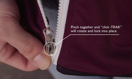 YKK launches 'click-Trak' zipper
