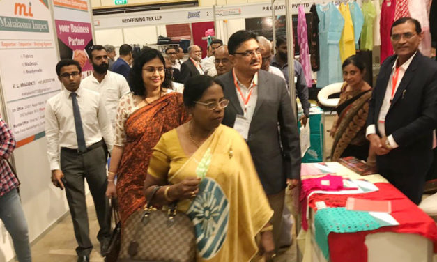 30 Indian textile companies participate in exhibition cum buyer-seller meet in Colombo