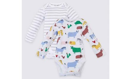 Clothing range for kids with sensitive skin by M&S