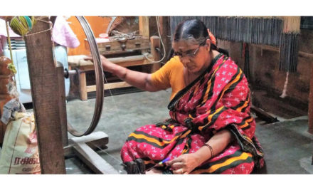 Handloom sector facing challenge due to changing tastes in Tamil Nadu
