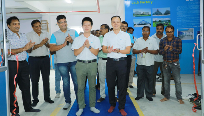 Jack opens its largest showroom in India in association with CK Trading