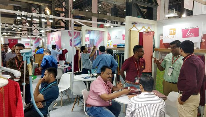 LIVA gets overwhelming response at National Garment Fair