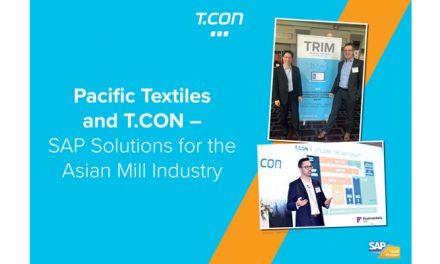 T.CON is expanding to Asia – in partnership with Pacific Textiles