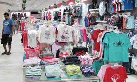 Branded apparel sales up 5-10% in April-June quarter