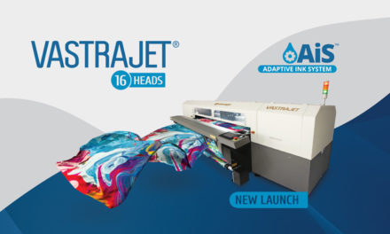 Colorjet to launch 16 Heads Vastrajet® at Gartex Texprocess India