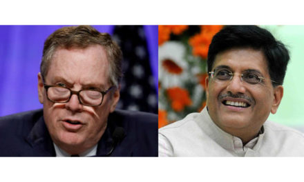 Indian Commerce Minister & USTR likely to meet soon