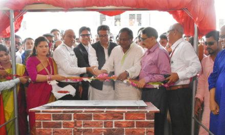 Minister opens RMG factory at Uttara EPZ in Bangladesh