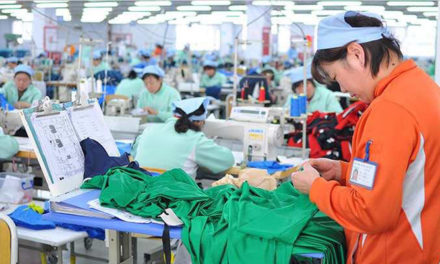 Myanmar's earnings from CMP garments exports increases
