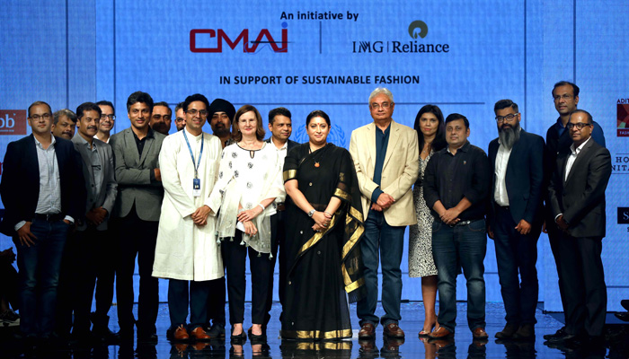 Smriti Irani launches CMAI and IMG Reliance's joint Initiative Project Su.Re