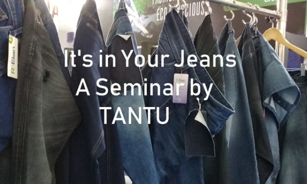 """""""It's in your Jeans"""" a seminar by TANTU"""