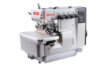 Computerized overlock and lockstitch machines by Bruce