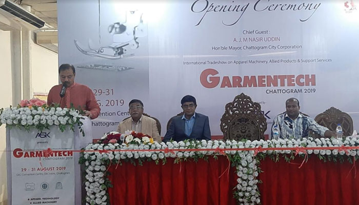 3rd edition of Garmentech Chittagong 2019 concludes