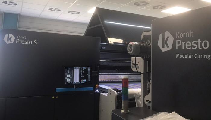 Brodelec installs Kornit Digital Presto S