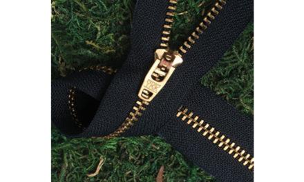 Eco-friendly zippers by YKK