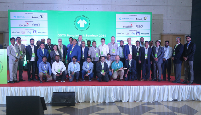 Supply chain sectors connected at GOTS Bangladesh Seminar 2019