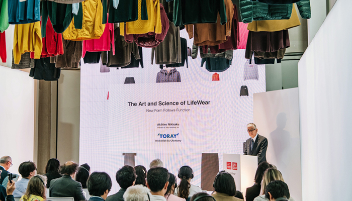 Japanese Toray brand promotes recycled PET fibres