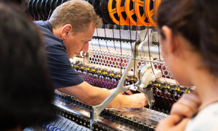 Saurer celebrates 150 years of embroidery machines