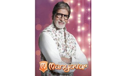 Amitabh Bachchan joins Manyavar family