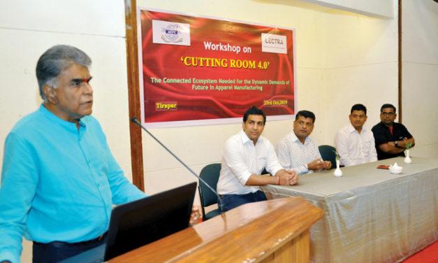 "Lectra organises Seminar on ""Cutting Room 4.0"" in Tirupur"