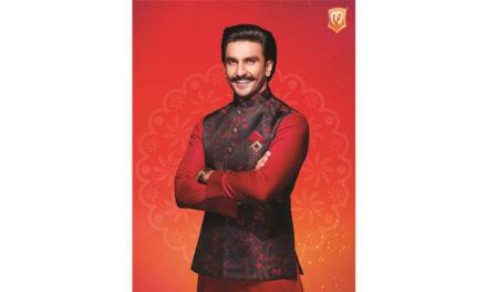 Ranveer Singh becomes Manyavar's new brand ambassador