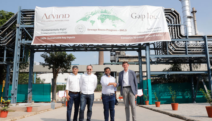 Gap and Arvind unveil new treatment facility