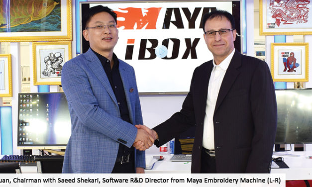 MAYA launches Intelligent Auto Digitizing Embroidery Software