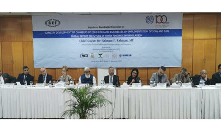 BGMEA emphasizing on dialogue for achieving SDGs