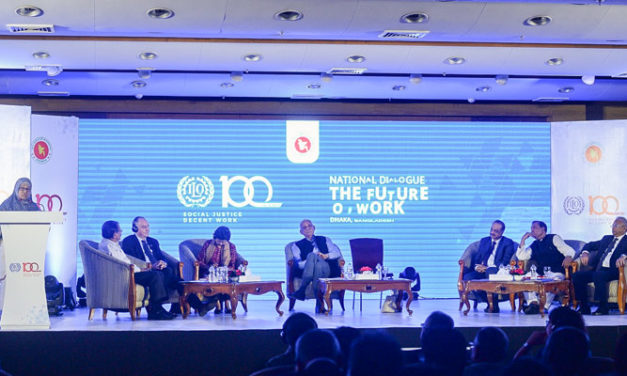 BGMEA participates in national dialogue on Future of Work