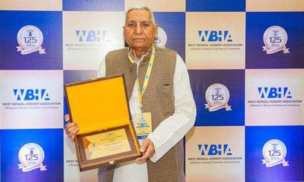 Dindayal Gupta of Dollar conferred with WBHA Hall of Fame Award