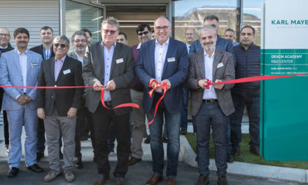 Karl Mayer opens new R&D centre for denim in Italy