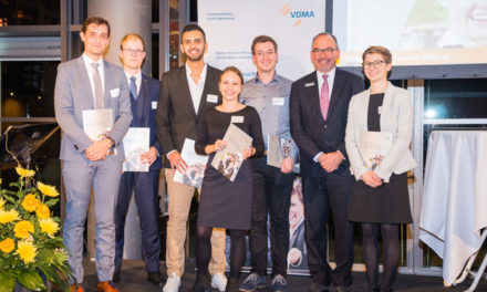VDMA Chairman honours young talent for a technologically strong industry
