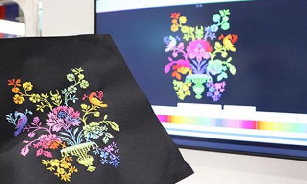 Coloreel to present instant thread coloring unit