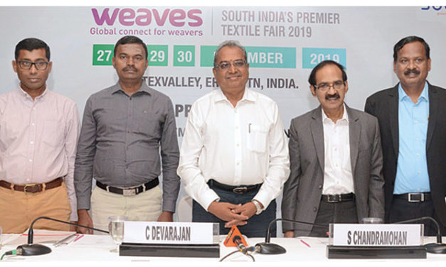"""South India's Premier Textile Fair """"WEAVES 2019"""" concludes on high note"""