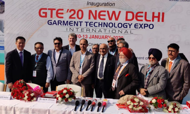 India's leading Garment Technology Expo (GTE 2020) begins