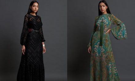 Ritu Kumar collaborates with Lenzing™ Ecovero™ to showcase their AW20 Collection