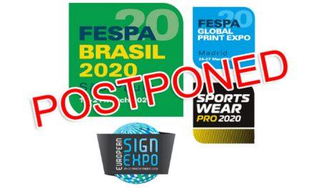 Fespa Brasil 2020 postponed amid covid-19 situation
