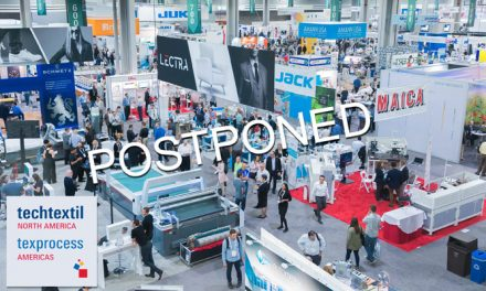 Texprocess Americas and Techtextil North America postponed