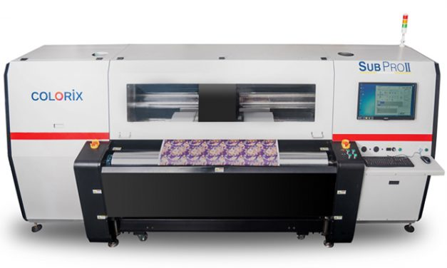 Colorix machines are making big headways in the Digital Textile Printing