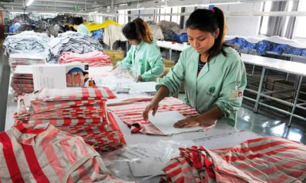 PRC dominance less dramatic now in textile-apparel