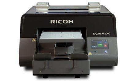 Ricoh launches Ri 2000 direct to garment printer