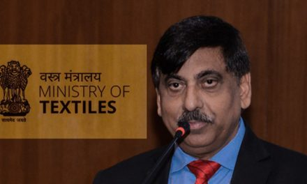 UP Singh assumes charge of Secretary in Textiles Ministry